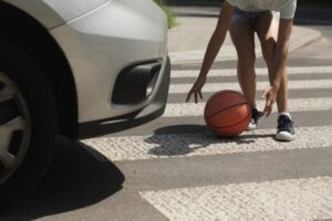 crosswalk injury accident involving child