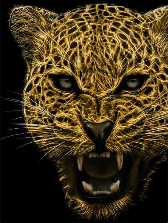 The roaring leopard symbolizes the aggressive style of the personal injury attorneys at Savage Law
